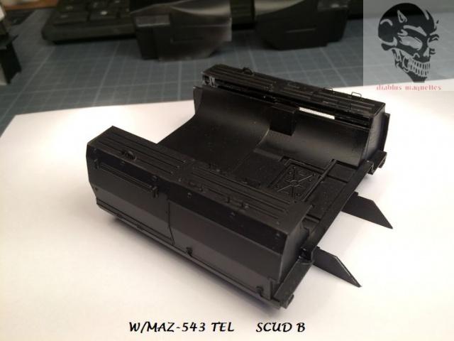 W/MAZ -543 TEL  SCUDB  maquette dragon 1/35 415115IMG4324