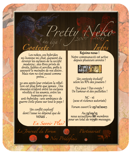 "Partenariat avec ""Pretty Neko"" 416448TESTRe769cupe769re769"