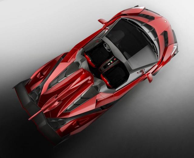 Lamborghini Veneno Roadster une édition limitée à neuf exemplaires  418174lambovenenoroadster2