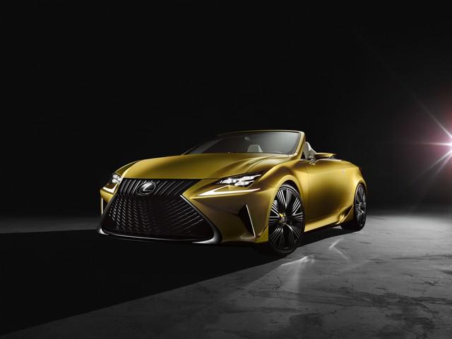 Le Concept Lexus LF-C2 Brille Sous Les Projecteurs Du Salon De Los Angeles 418557LFC2bFront34high