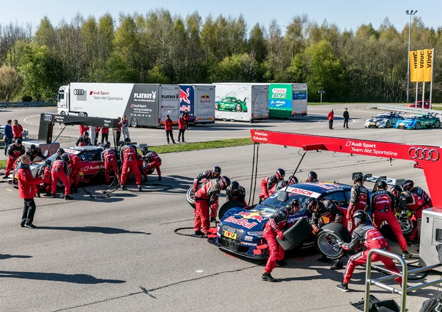 Les équipes Audi Sport sont prêtes pour l'ouverture de la saison de DTM 420318A163074medium