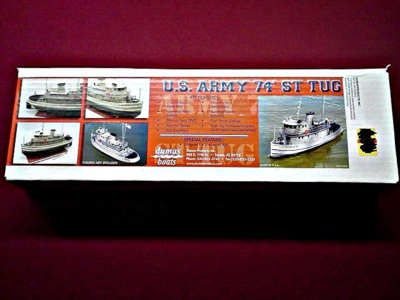 """US """"EX"""" ARMY 74 ST TUG 1/48 420595lg102238006225"""