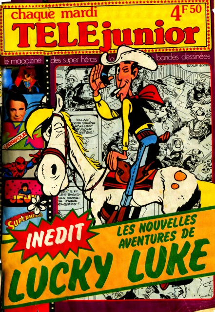 Scan pub Lucky Luke - TELEjunior 422141pubLL3