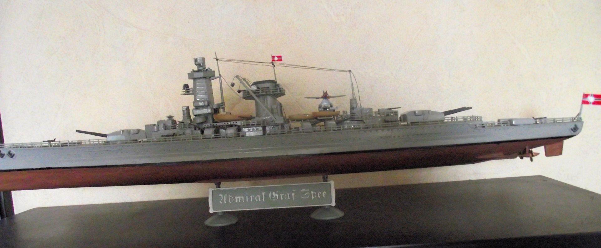 Admiral Graf Spee 1/350 Academy  422179MaquetteGrafSpee1x3501