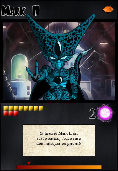 Jeu de cartes RPGDBZ 422436MarkIIcarteN17