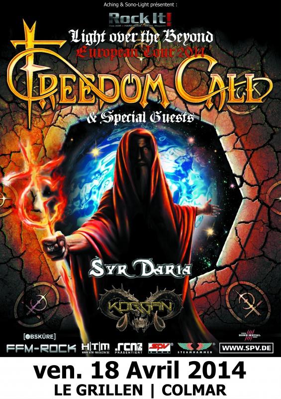 FREEDOM CALL 18 AVRIL au grillen et le 19 avrI chez paulette 422508FreedomCallColmarJourSD