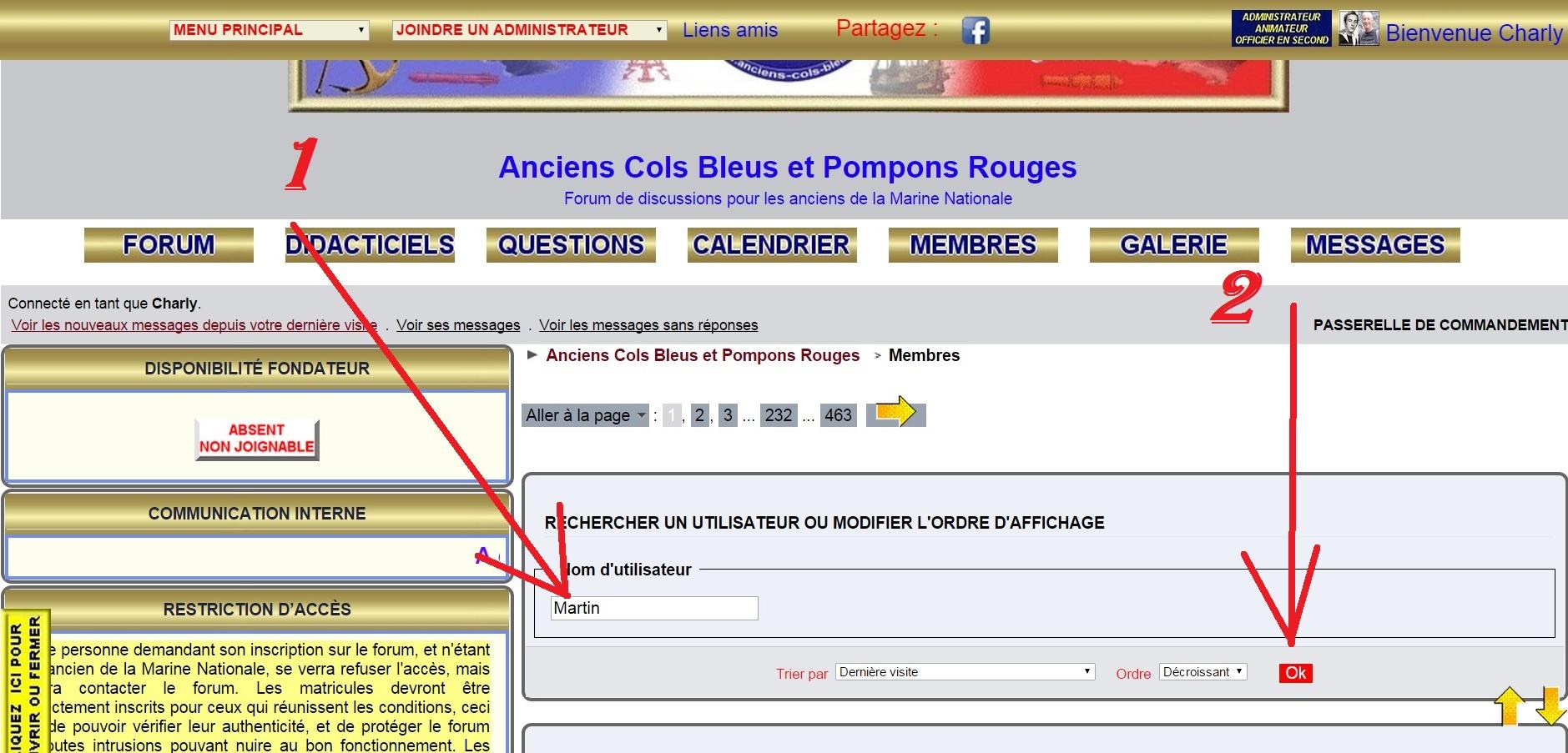 Recherche camarade : Jean-Pierre MARTIN inscrit sur ce site qu'il m'a fait connaître. 423120112