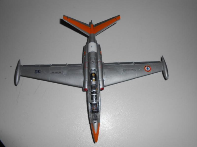 Fouga Magister 1/48 Kinetic lionel 45 - Page 2 423418Fougafini018