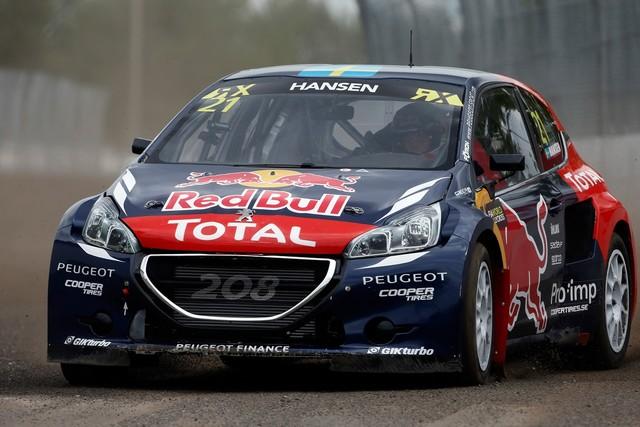 Rallycross : La PEUGEOT 208 WRX et le Team Peugeot Hansen triomphent au Canada ! 423606wrx201508070531