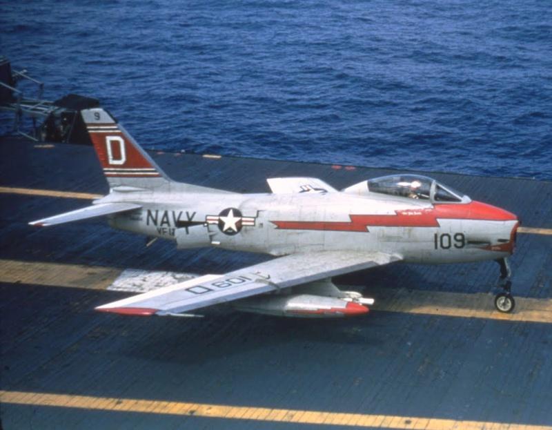 VOUGHT F-8 CRUSADER  424079NorthAmericanFJ3Fury
