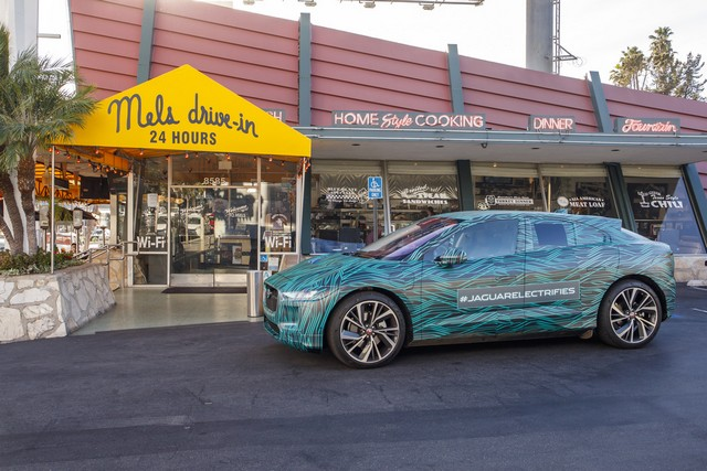 Le Jaguar I-PACE en road trip électrique à Los Angeles 424506jipaceroadtrip061217027