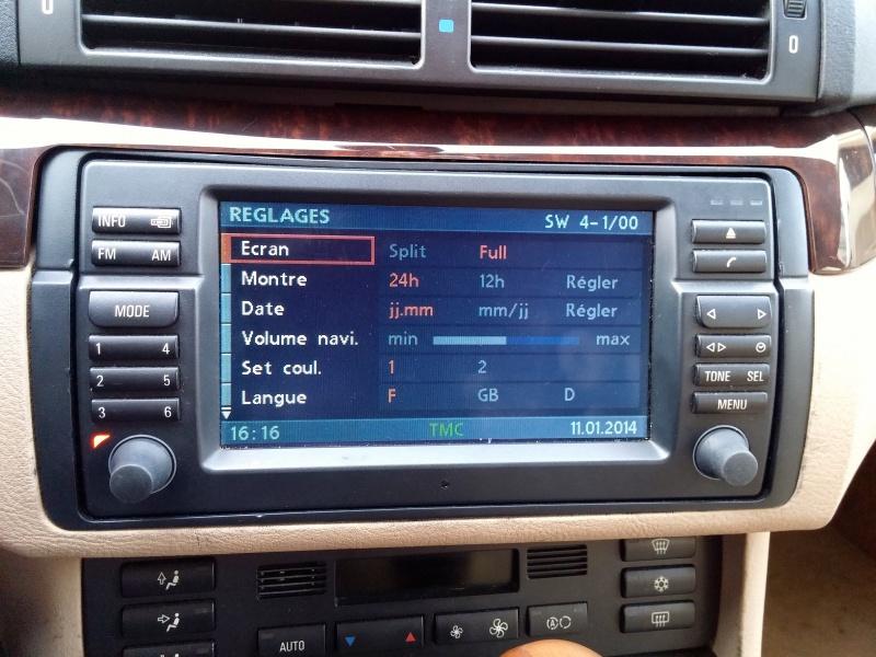 [TUTO toutes BMW jusqu'à 2003] Les menus du GPS mk4 (notions 424821Rglages1