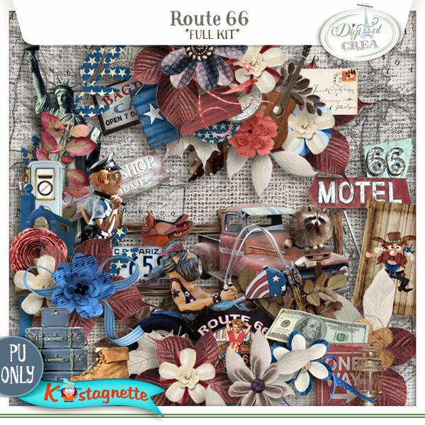 Collection Route 66 de Kastagnette + Promo 428039111