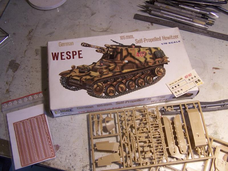Sdkfz 124 Wespe Normandie 06.44 4280871005698