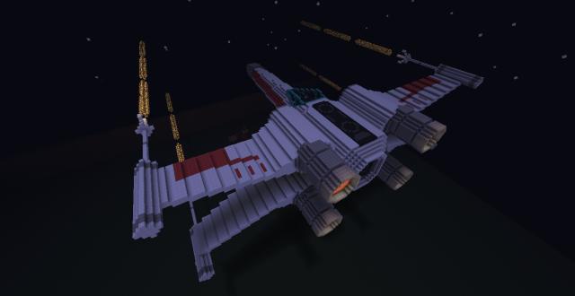 Réalisation des vaisseaux sur Minecraft 42956420120226214810