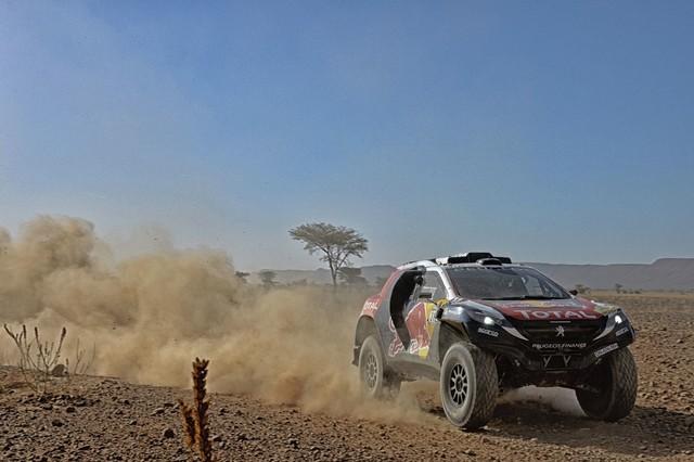 Team Peugeot Total : Rallye du Maroc / ETAPE 2 : Boucle du Drâa 43225705315002032