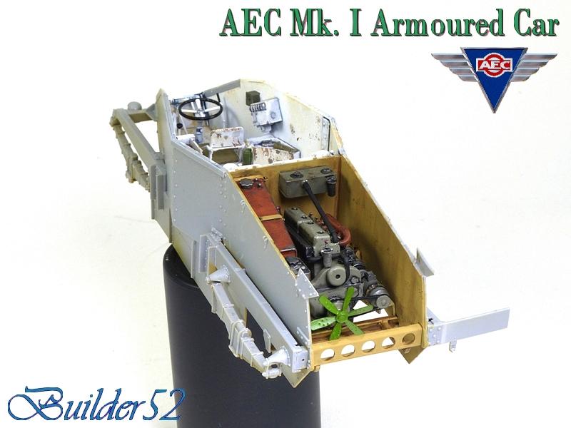 AEC Mk.I Armoured Car - Lybie 1942 - Miniart 1/35 - Page 2 432386P1050107
