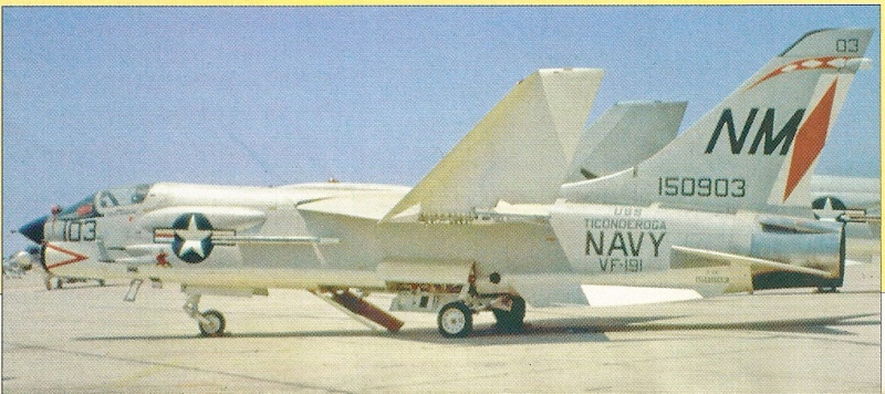 VOUGHT F-8 CRUSADER  435457VoughtF8ECrusaderVF191Miramar260897