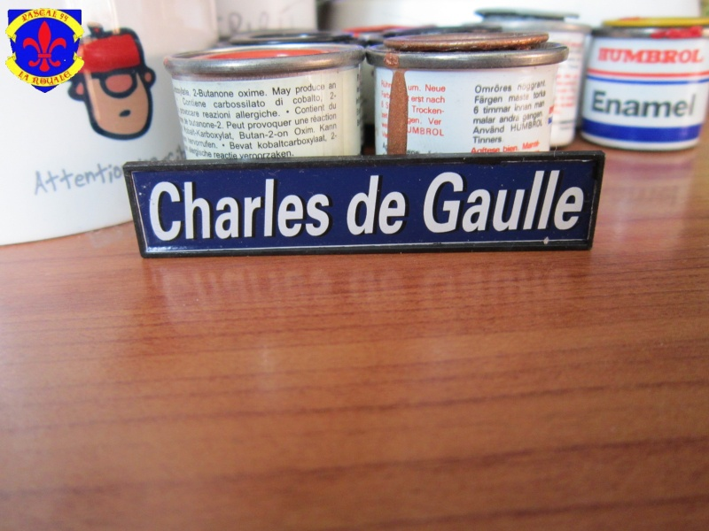 Porte avions Charles De Gaulle au 1/400 d'Heller  436196IMG27641
