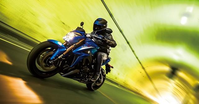 Suzuki dévoile son nouveau roadster au cœur de sportive 436420gsxs1000al6action3
