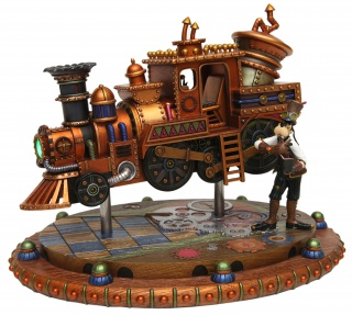 (Disneyland Park) The Disney Gallery - Exposition Mechanical Kingdoms - Steam-Driven Visions of a Victorian Future 436510tdg5