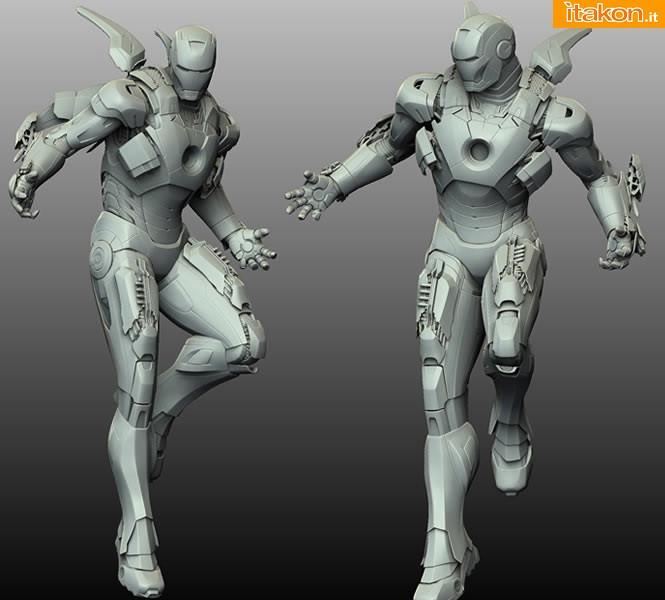 [XM Studios] Iron Man Mark VII - 1/4 scale 4395375901