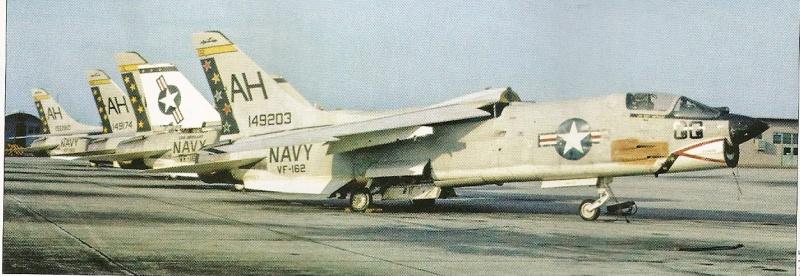 VOUGHT F-8 CRUSADER  443779VoughtF8ECrusaderVF162Miramardcembre1966