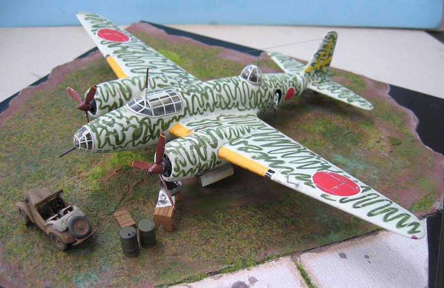 """[MPM] - Mitsubishi Ki 21 IIB """"Sally"""". 444681Ki21121"""