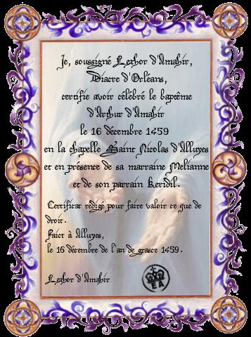 Registre des baptêmes 445092certificatbaptemelexhorpourarthur