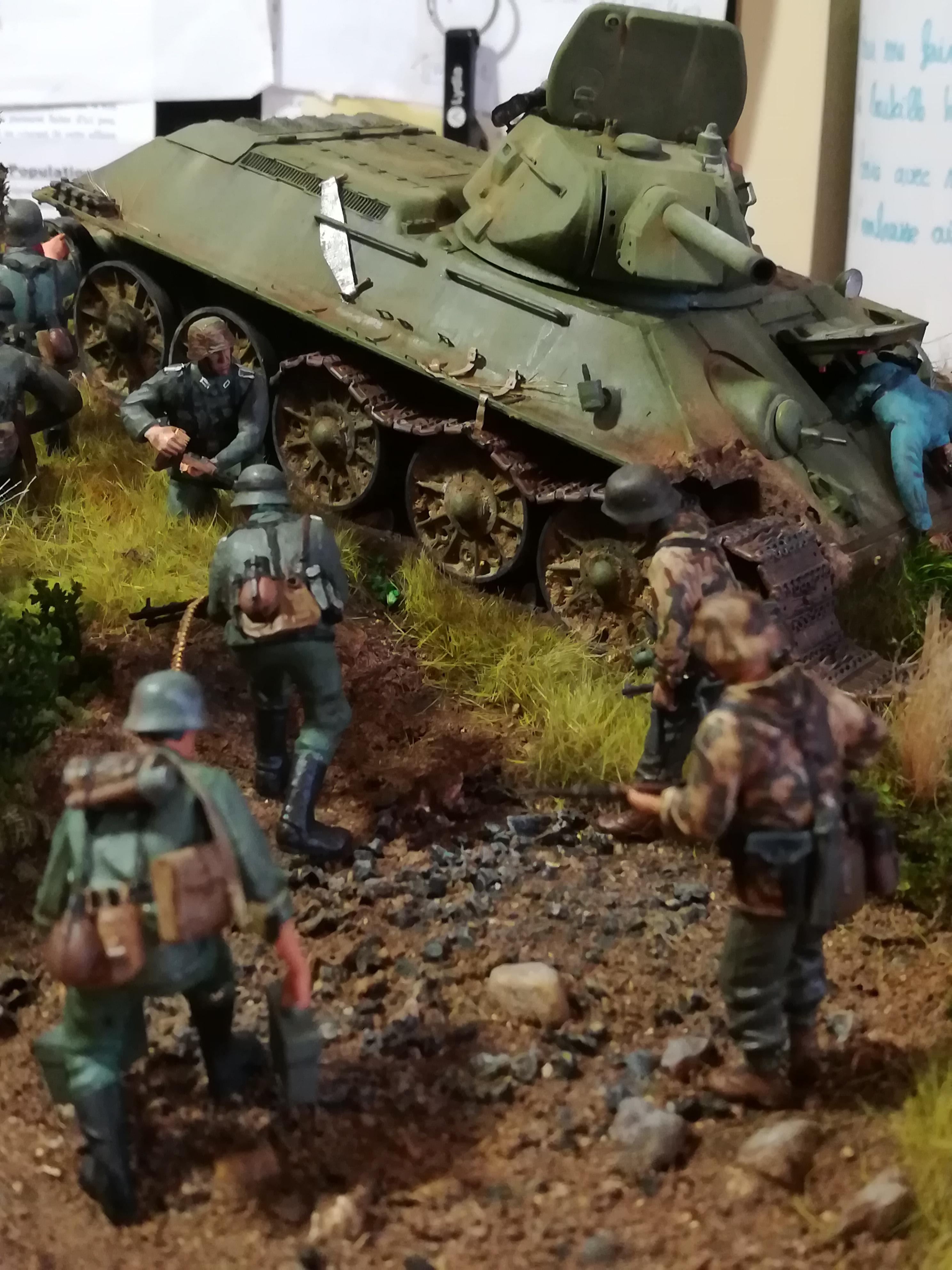 Front de l'Est, 1942 - T34 et Wehrmacht - Zvezda - 1/35 - Page 2 445224IMG20171219141418