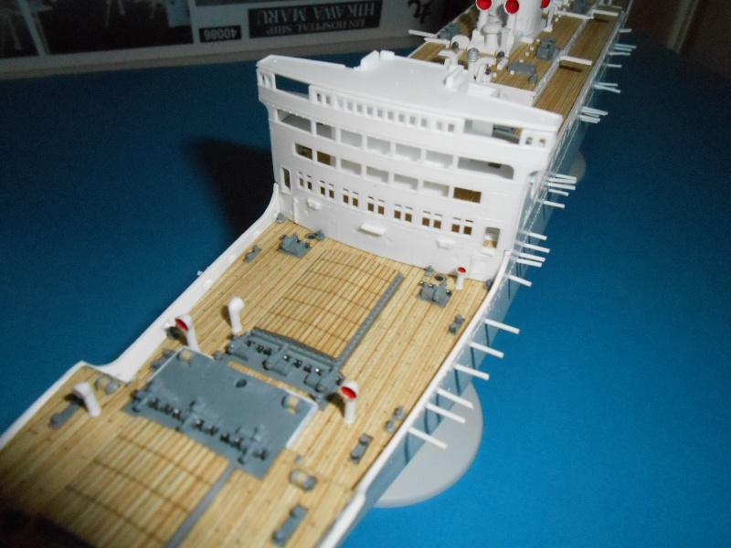 Hikawa Maru hopital 1/350 PE/pont en bois et babioles  - Page 3 446087DSCN5674