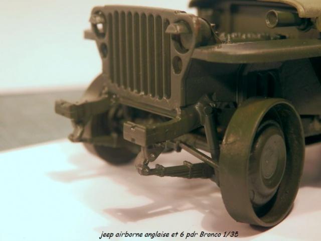 jeep indochine - 6 pdr ,jeep ,équipage airborne Bronco 1/35 (sur la route de Ouistreham) 446960P5020103