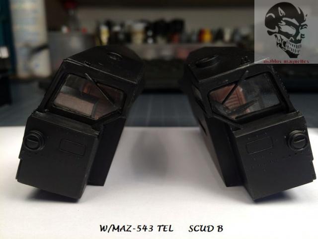 W/MAZ -543 TEL  SCUDB  maquette dragon 1/35 448041IMG4319