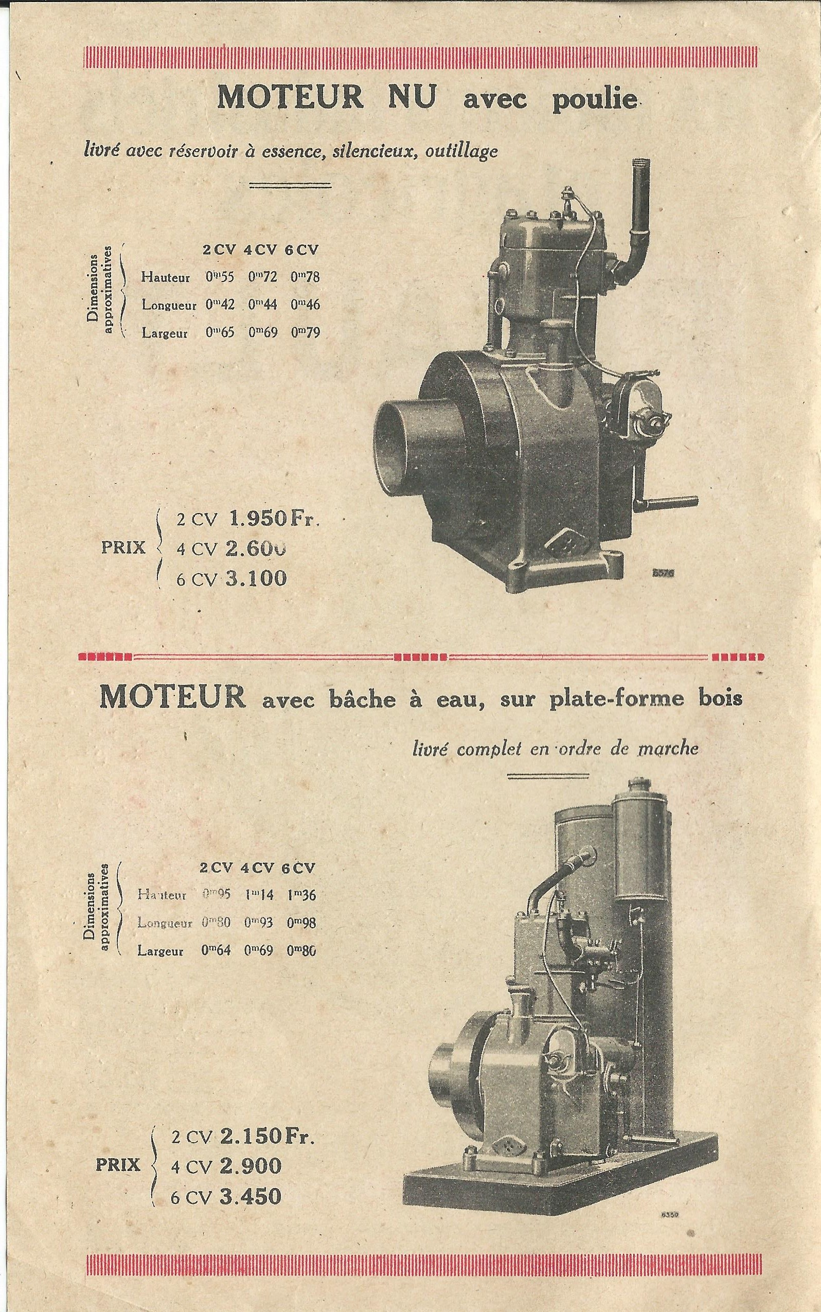 RENAULT - moteur renault 263 448164RENAULTmoteursfixes1927002