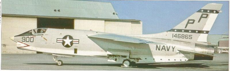 VOUGHT F-8 CRUSADER  448689VoughtRF8GVFP63Lemoore160472