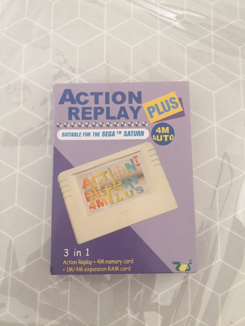 [VENDUE Sega Saturn Jap LongBox + Action Replay 4 en 1 Pseudo Saturn 449220IMG1713