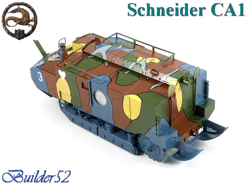 CHAR SCHNEIDER CA 1 - HOBBY BOSS 1/35 450186P1040953