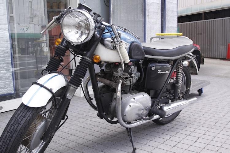 Triump Cafe Racer à Kyoto 450471MG5121