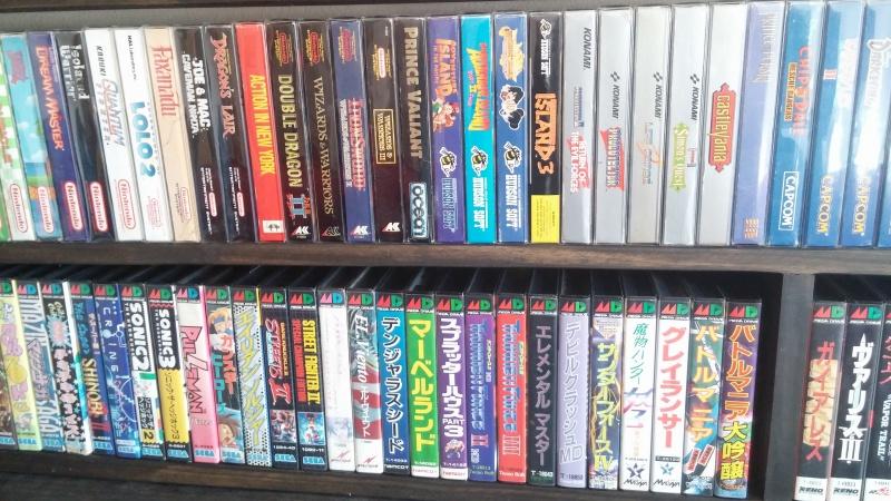 ajout de ma collection Neo Geo AES en vitrine :) 450546CAM00994