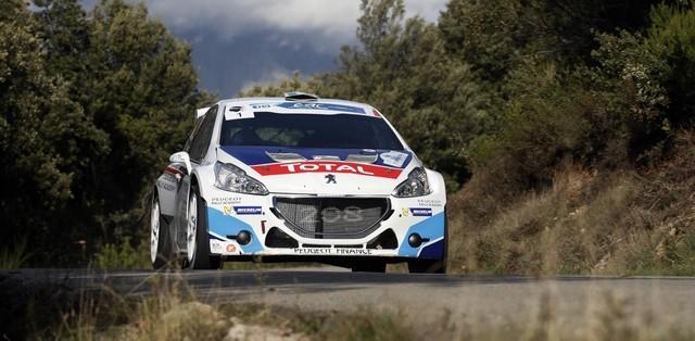 Première pour Charles Martin et 208 T16 au Rallye du Touquet ! 450762725990545f0acb9f7ef
