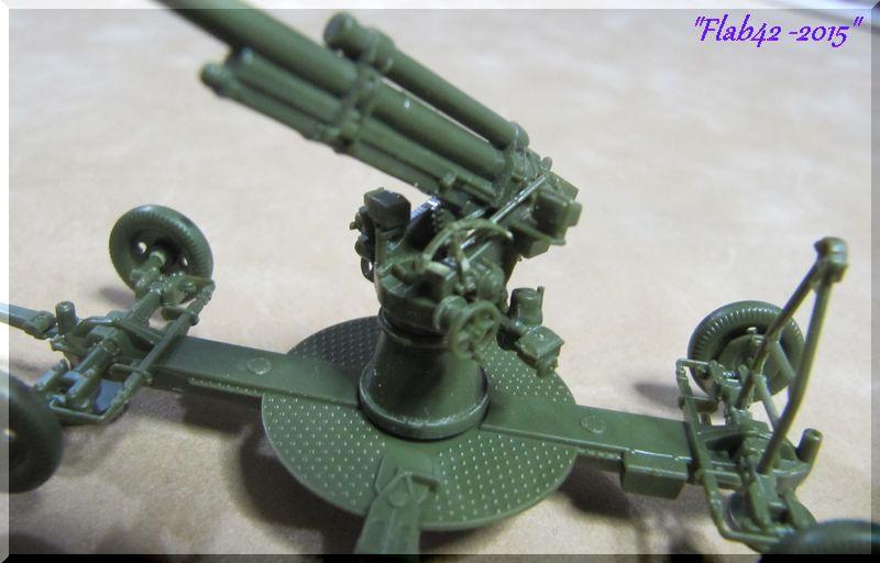 Canon anti-aérien Soviétique de 85mm - Zvezda - 1/72ème 451600862