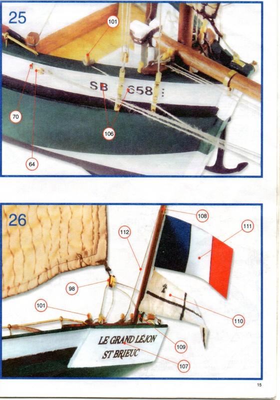 """Lougre """"Le Grand Lejon""""shistership de la """"Jeanned'Arc"""" au 1/35 AL - Page 8 452133photo25001"""
