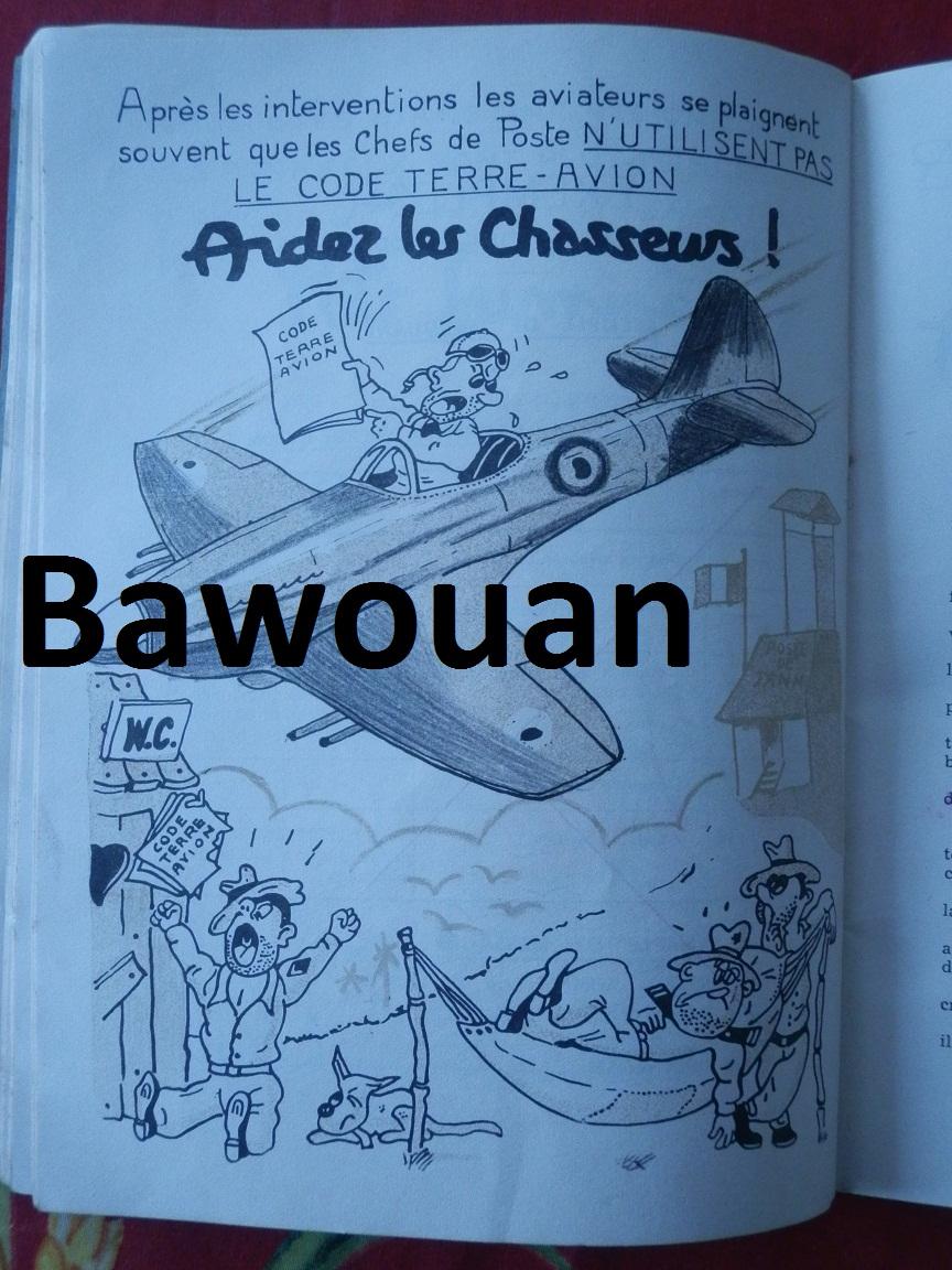 MEMENTO sur les liaisons Terre-avion à l'usage des chefs de poste en Indochine 1951 452179P7210510