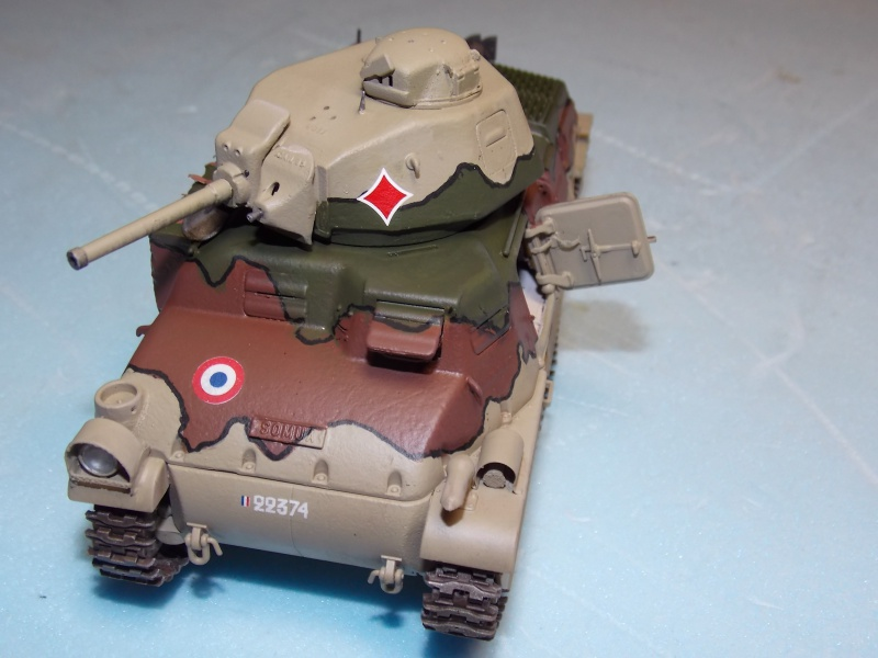 Chenillette Renault UE  et char Somua S35 TAMIYA 1/35  - Page 6 452475DSCN4014