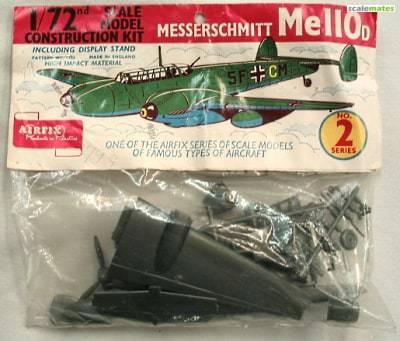 Bf 110 C D E 453044Airfixsachet