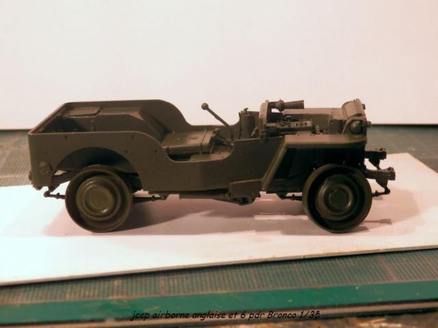 jeep indochine - 6 pdr ,jeep ,équipage airborne Bronco 1/35 (sur la route de Ouistreham) 453143P5020092