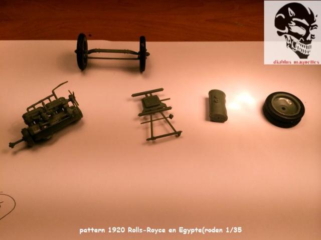 Pattern 1920 Rolls-Royce MK1 en Egypte - (Roden 1/35) 453650IMG2678