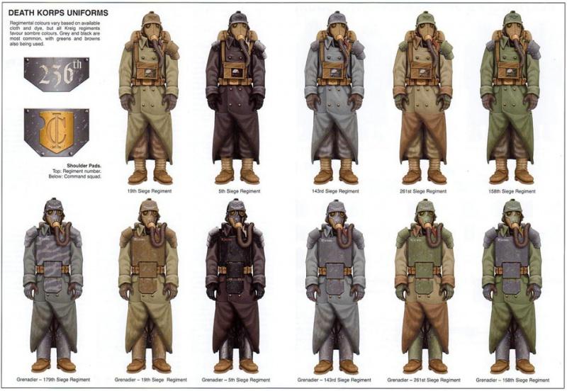 [W40K] Collection d'images : La Garde Impériale 453673KriegUniforms2