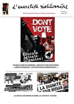 L'anarchiste Révolutionnaire (publication en ligne) 454317AR4