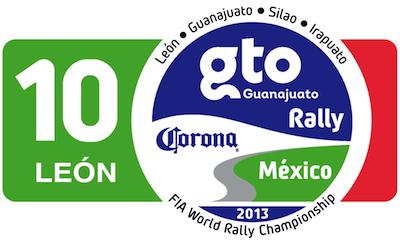 WRC Rallye du Mexique 2013 : Victoire Sébastien Ogier 456333LogoRallyGuanajuatoMx13